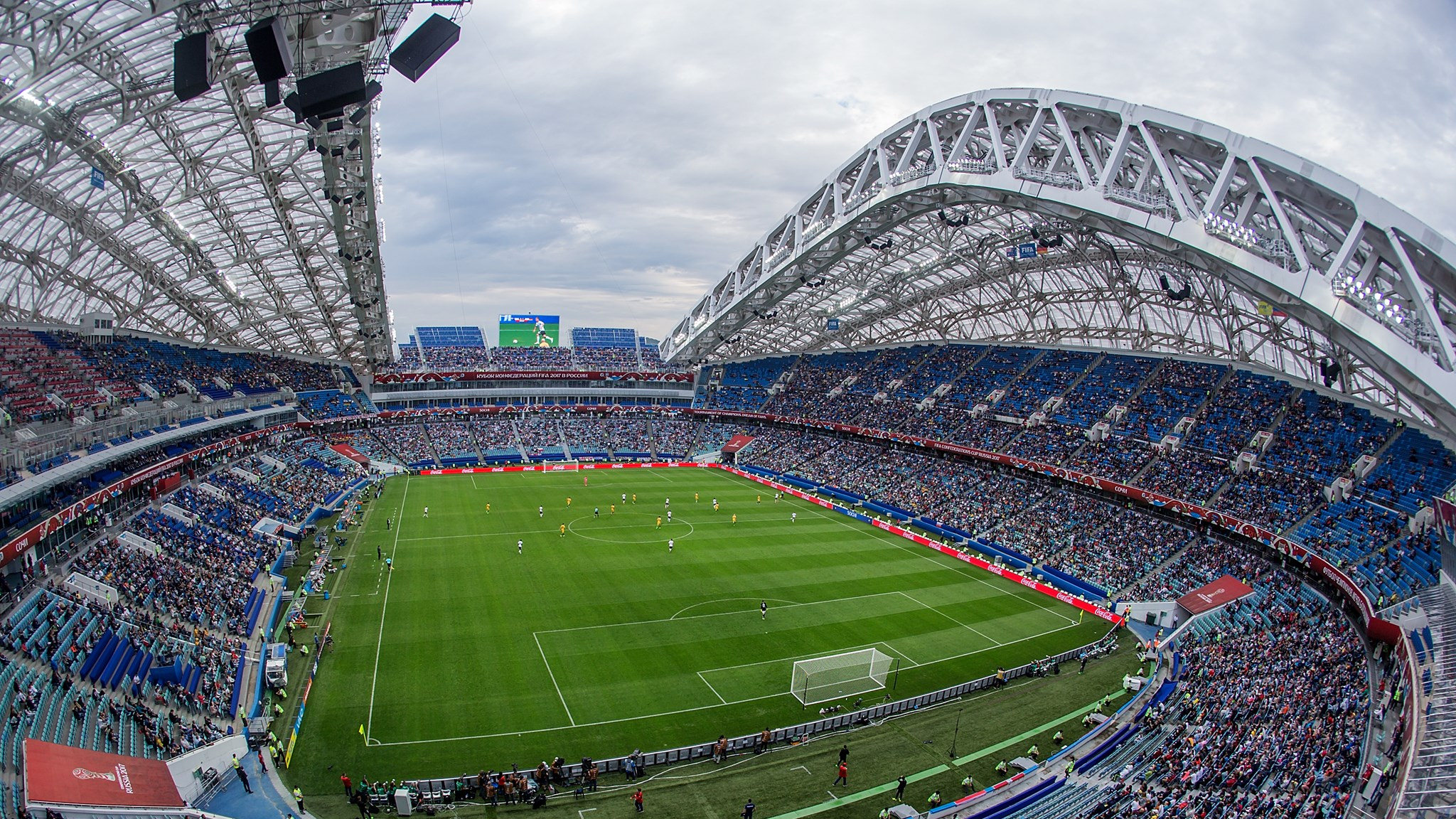 77a4ce8526e7 Построенный в преддверии зимних Олимпийских игр стадион «Фишт» стал одним  из крупнейших спортивных объектов России. Он располагается в Адлере на  территории ...