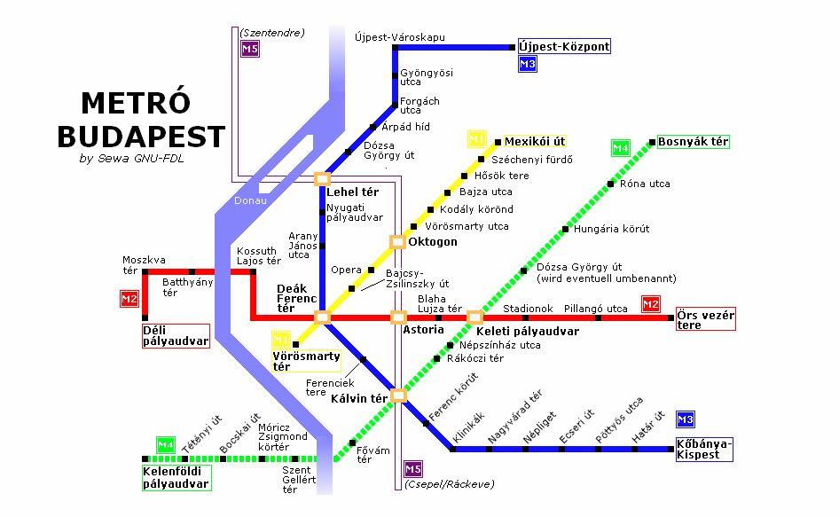 для метро будапешта билеты и время экоизол