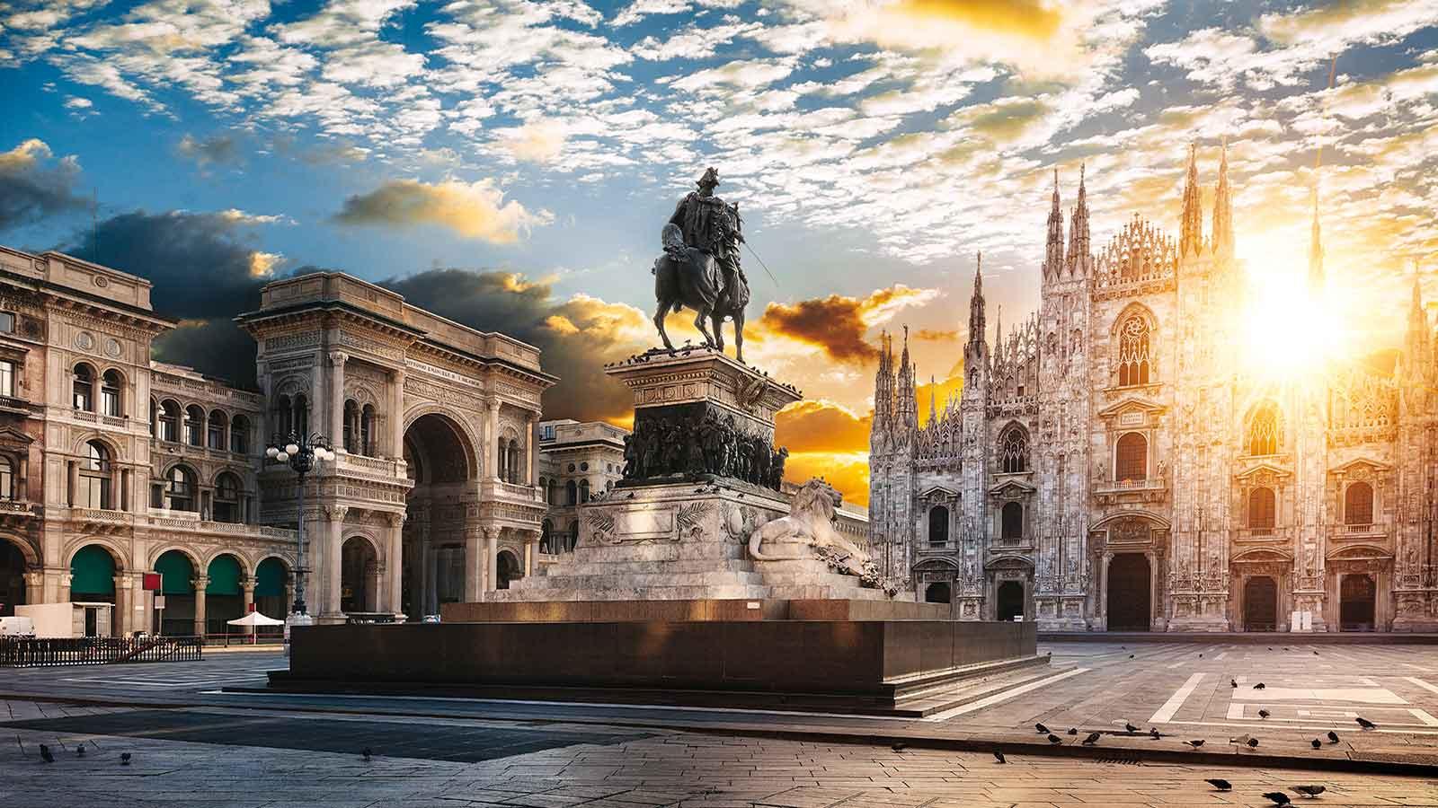 Билеты из Москвы в Милан всего за 8900 руб. туда-обратно с багажом!