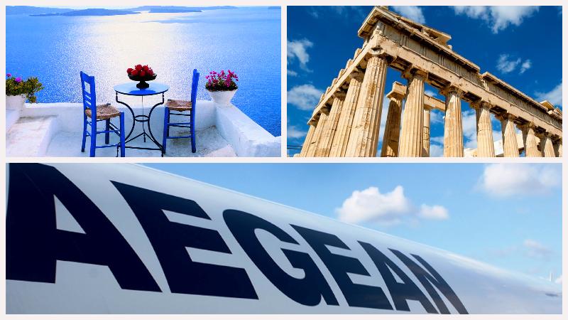 Распродажа Aegean! Скидка до 40% на билеты из Москвы и Петербурга в Грецию