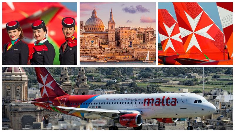 Очередная распродажа Air Malta! Билеты на Мальту из Москвы 11300₽, из Петербурга 10400₽ туда-обратно летом!
