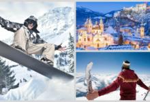Для тех, кто любит Альпы и лыжи: перелеты в Зальцбург и Турин от 11400₽  туда-обратно в феврале-марте