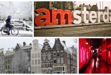 В Амстердам от 7100₽ туда-обратно или 2700₽ в один конец