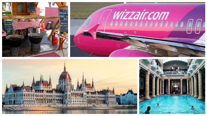Скидка 30% от WizzAir: Из России в Венгрию от 3500₽ туда-обратно