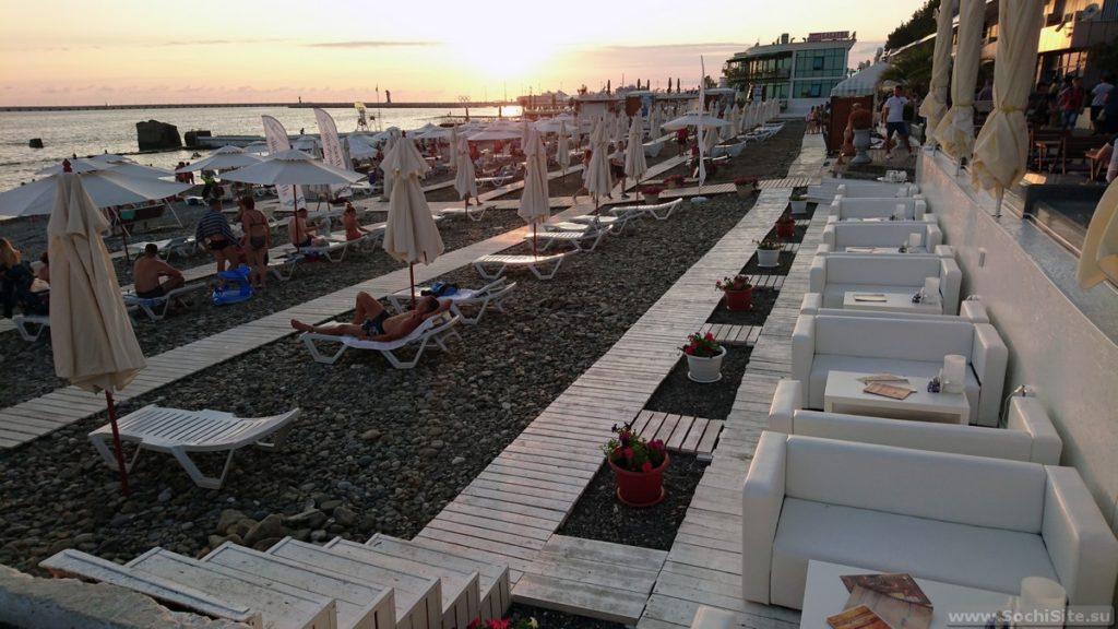 Обзор лучших общественных пляжей Сочи
