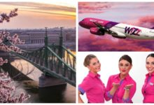 WizzAir: cкидка 30% на все рейсы из Москвы и Питера в Венгрию от 3500₽ туда-обратно (май-июнь)