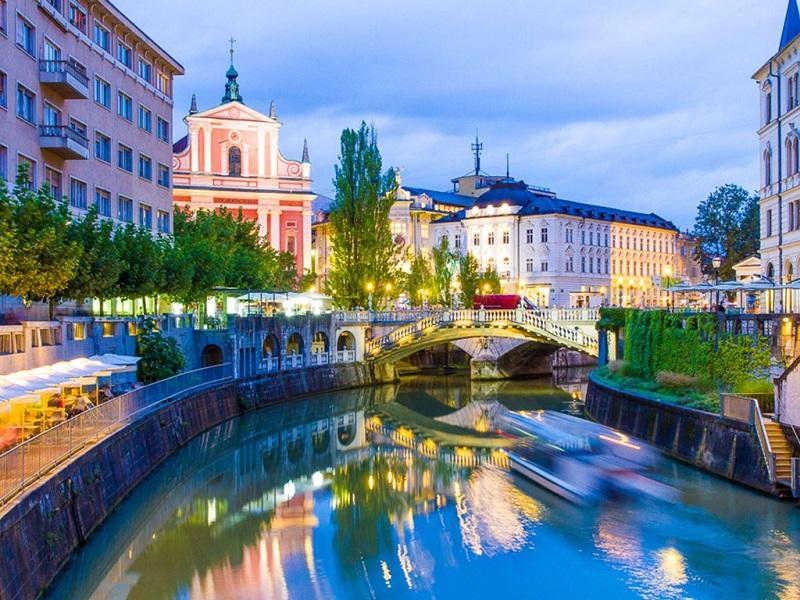 Летом! Билеты из Москвы в Словению всего за 9730 руб. туда-обратно!