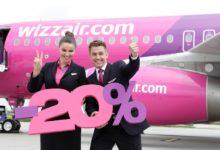 Распродажа Wizz Air! Cкидка 20% на авиабилеты!