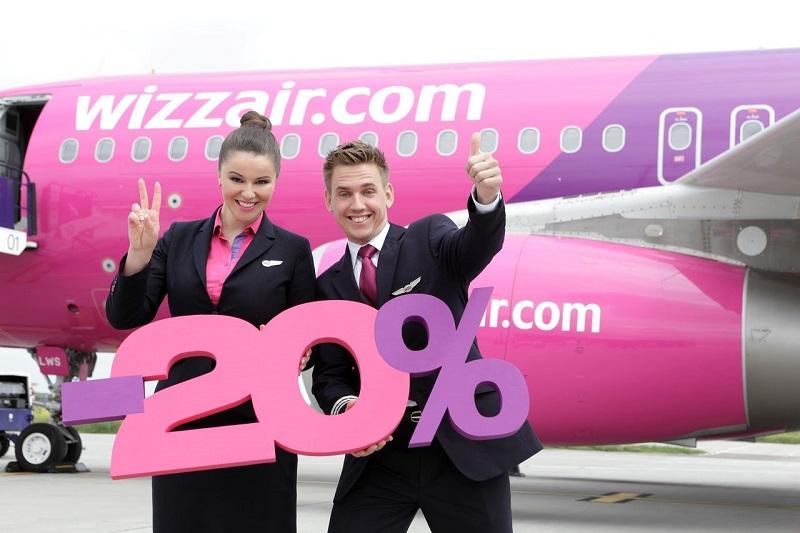 Скидка WizzAir 20%! Перелеты из Москвы и Питера в Венгрию от 3200₽ туда-обратно