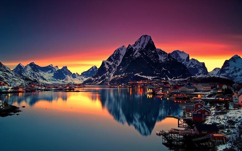 Перелеты из Москвы в Норвегию всего за 10900₽ туда-обратно