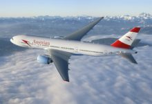 Скидка 20% от Austrian Airlines! Прямые рейсы из Москвы и Питера в Вену за 8400₽ туда-обратно