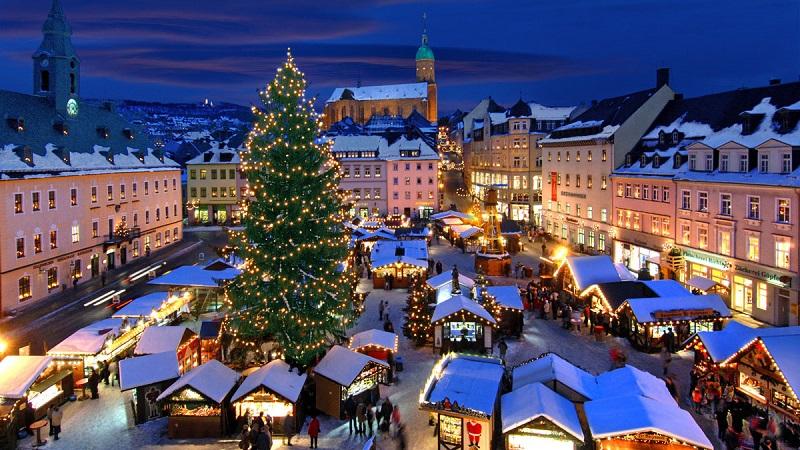 Католическое Рождество и Новый год в Германии! Авиабилеты из Москвы в Мюнхен за 9300₽ туда-обратно