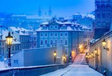 Отличная цена! Добраться из Петербурга в Прагу в январе всего за 7100₽ туда-обратно
